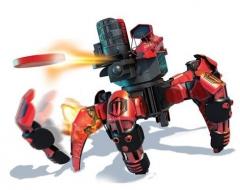 Робот Combat Creatures Attacknid - Doom Razor