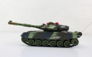 Боевой танк Абрамс на радиоуправлении