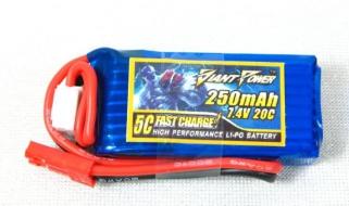 Аккумулятор Giant Power Li-Po 3.7V, 500mAh, 25C