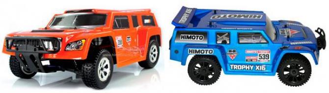 машинка на радиоуправлении Himoto ETY-16 (1:16)