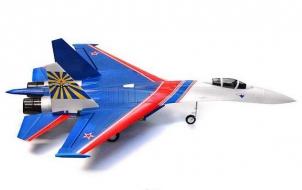 Самолет на радиоуправлении Techone Su-27 KIT (82 см)