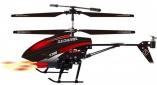 радиоуправляемый вертолет WLToys V398 с ракетами (19см)
