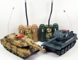 Танковый бой World of Tanks RD360 (1:32)
